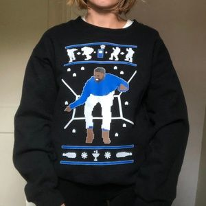 Drake Hotline Bling Christmas Sweatshirt